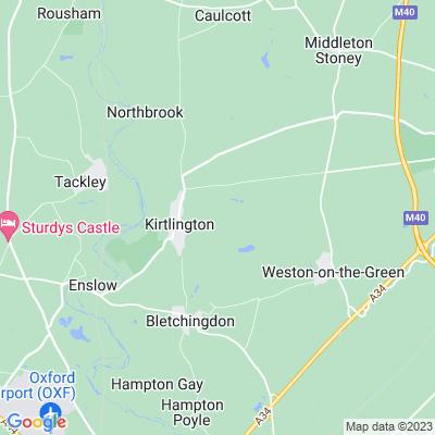 Kirtlington Park Location