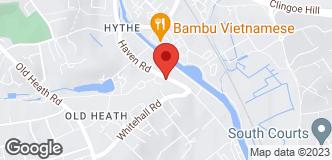 Ernest Doe (Colchester) location