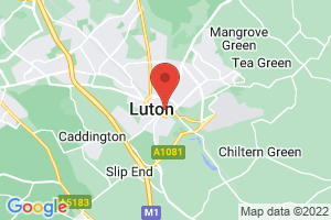 University of Bedfordshire Luton Library on the map