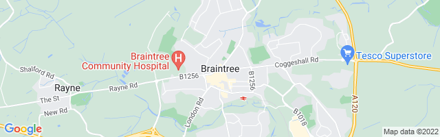Map Of Braintree