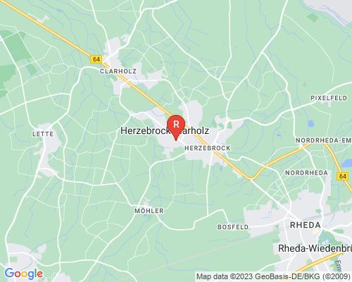 Google Karte von Rohrreinigung Herzebrock Clarholz