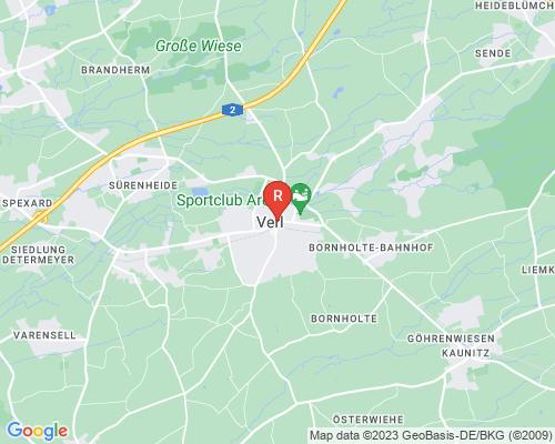 Google Karte von Rohrreinigung Verl