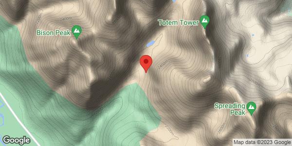Mount Murchison - Cosmic Messenger Area