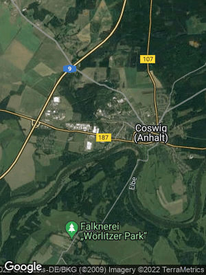 Google Map of Coswig