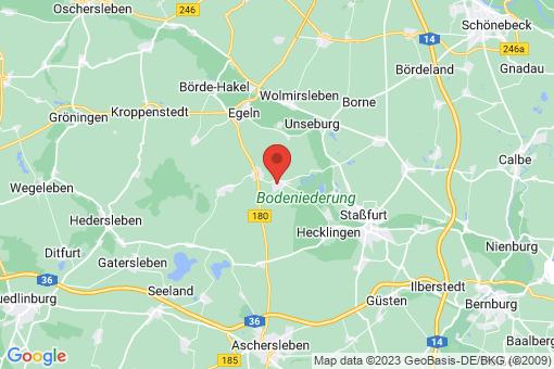 Karte Groß Börnecke