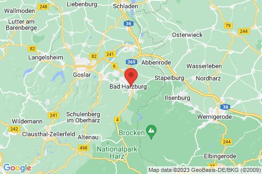 Karte Bad Harzburg Bad Harzburg