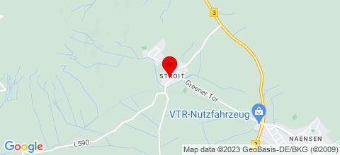 Google Map für GÄSTEHAUS ANDREA