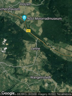 Google Map of Lenne am Solling