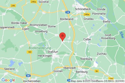 Karte Förderstedt