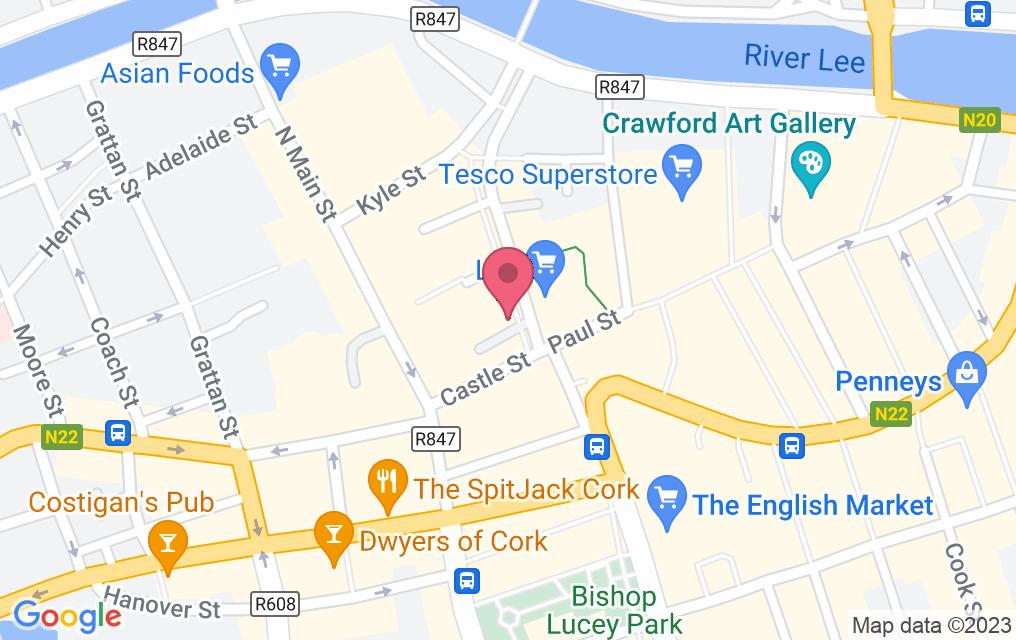Get directions to Cornstore - Cork
