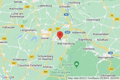 Karte Bad Harzburg Göttingerode