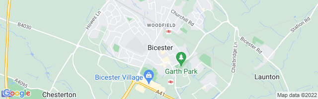 Map Of Bicester