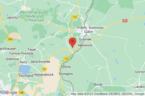 Karte Gastrose-Kerkwitz