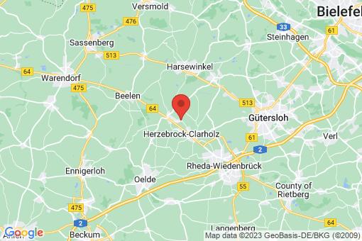 Karte Herzebrock-Clarholz