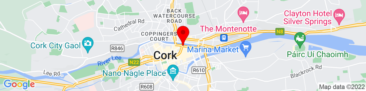 Google Map of 51.900283333333334, -8.470263888888889