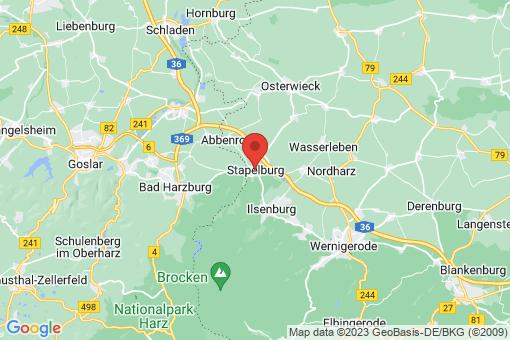 Karte Stapelburg