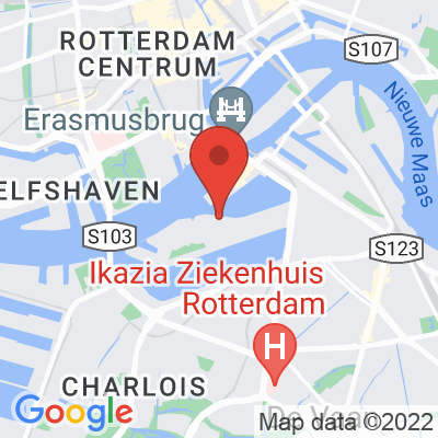 Map showing Stielman Koffiebranders