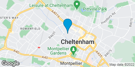 Map of C/o Cheltenham Waitrose in Cheltenham