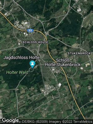 Google Map of Schloß Holte-Stukenbrock