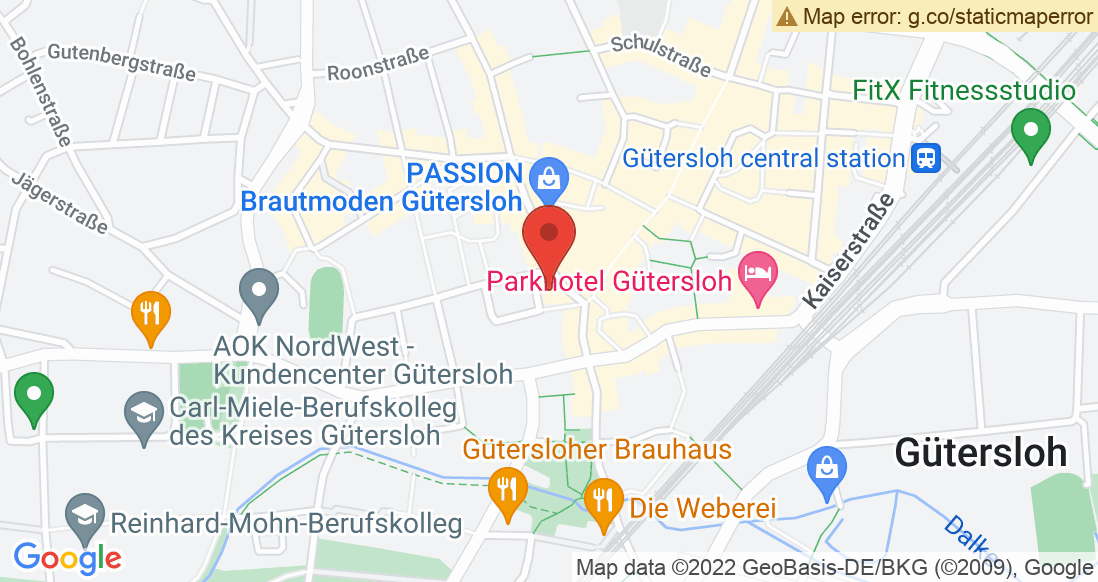 Google Map ACTIVE Sportshop Gütersloh