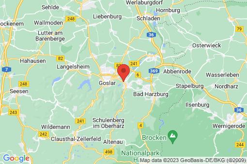 Karte Goslar Goslar