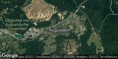 Google Map of Augustdorf