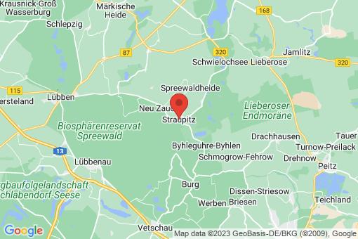 Karte Straupitz