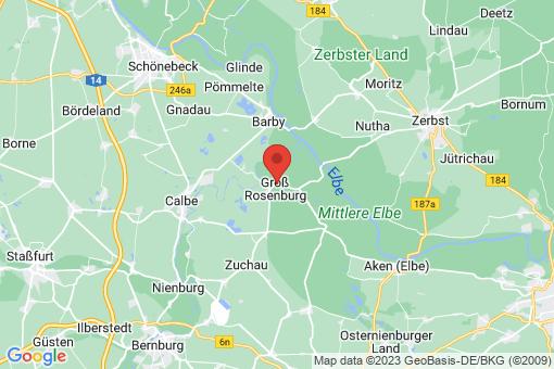 Karte Groß Rosenburg