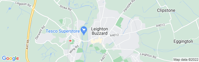 Map Of Leighton Buzzard