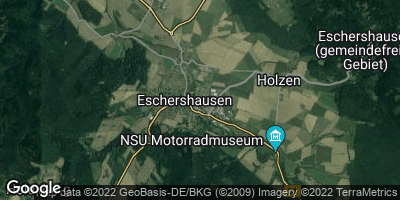 Google Map of Eschershausen