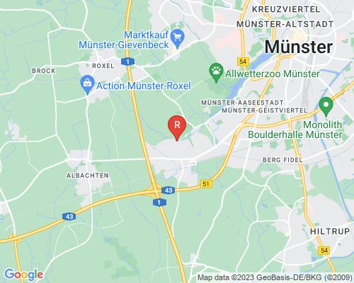 Google Karte von Rohrreinigung Münster