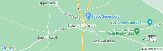 Map Of Stow-on-the-Wold