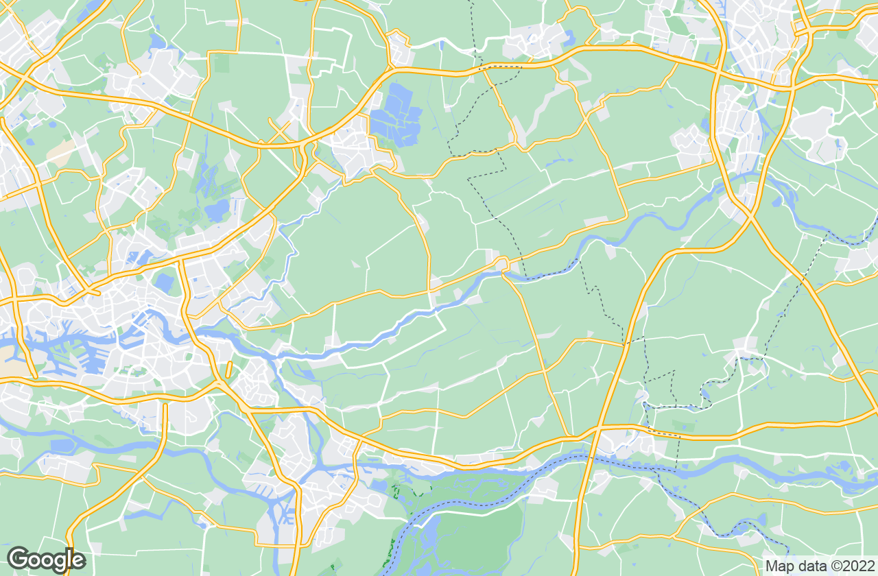 Google Map of Bergambacht