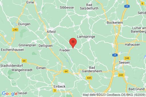 Karte Winzenburg