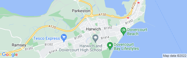 Map Of Harwich