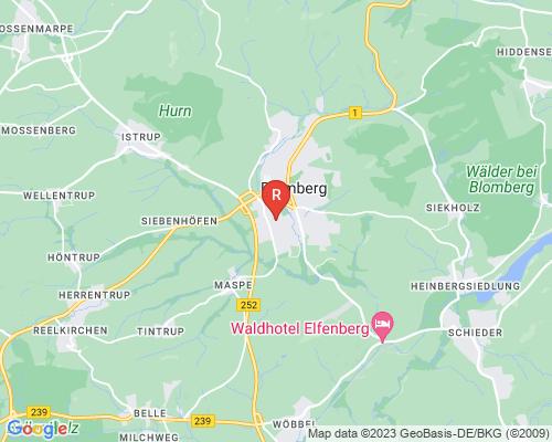Google Karte von Rohrreinigung Blomberg