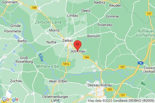 Karte Jütrichau