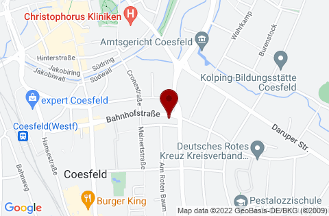 Google Maps: Einrichtungsstudio Sicking in Coesfeld