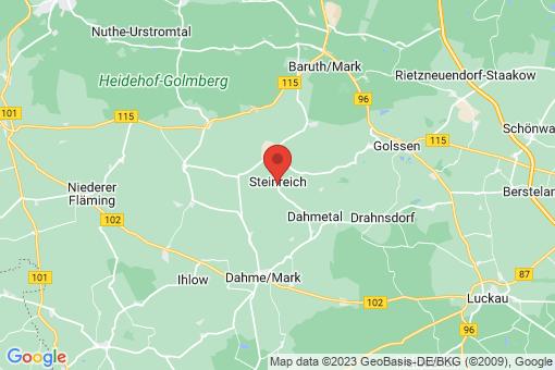 Karte Steinreich Glienig