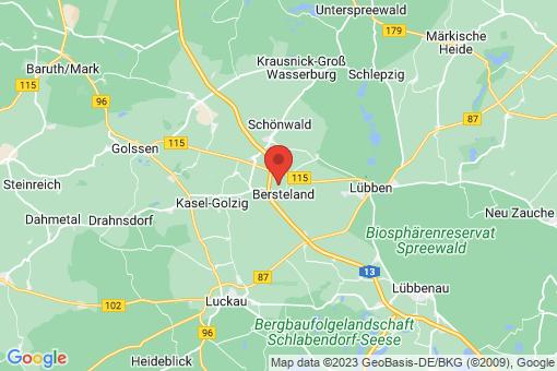 Karte Bersteland