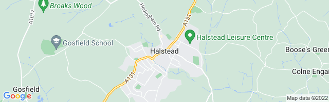 Map Of Halstead