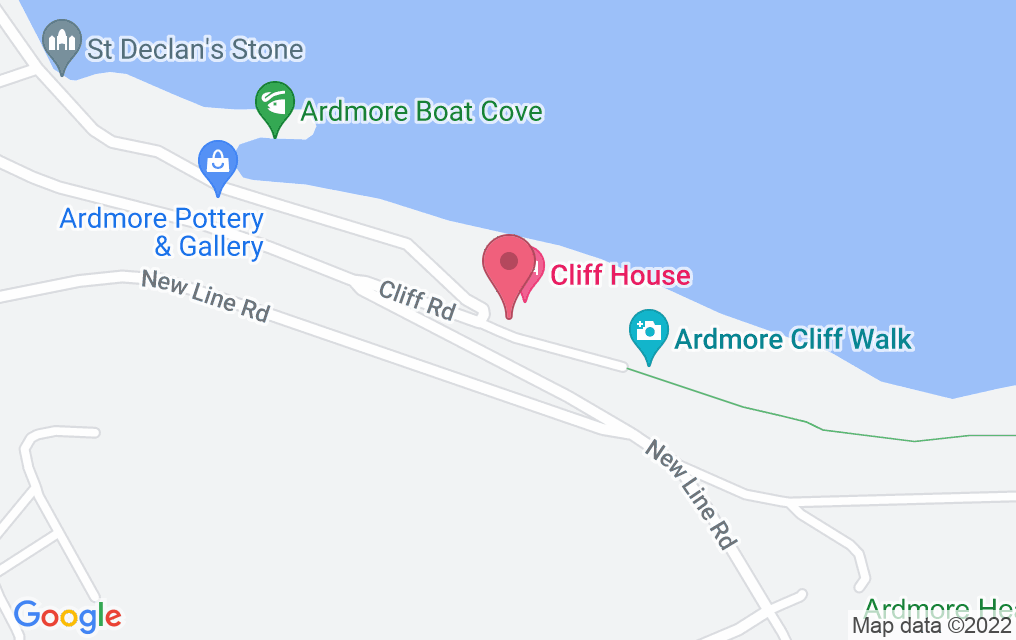Get directions to House at Cliff House Hotel