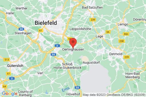 Karte Oerlinghausen