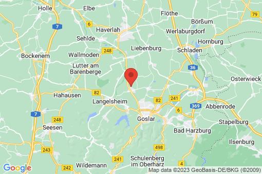 Karte Goslar Jerstedt