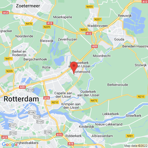 Dutch Soccer Youth Cup map