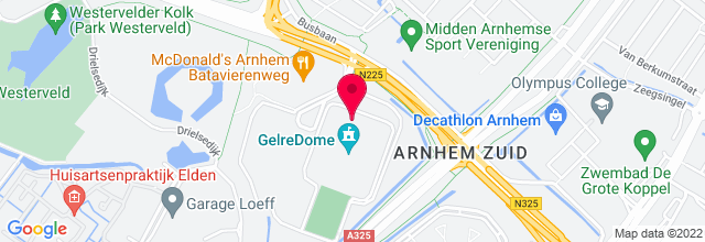 Map for GelreDome