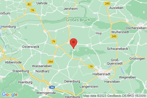 Karte Huy-Neinstedt