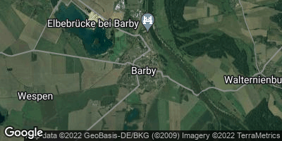 Google Map of Barby