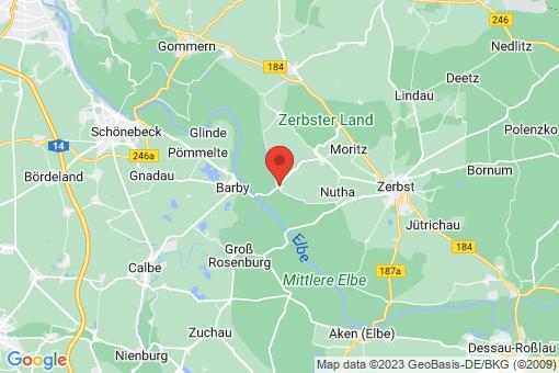 Karte Walternienburg