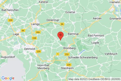 Karte Blomberg
